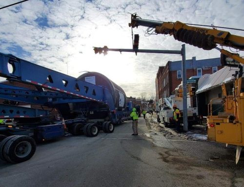 Super Load it Moves through Erie